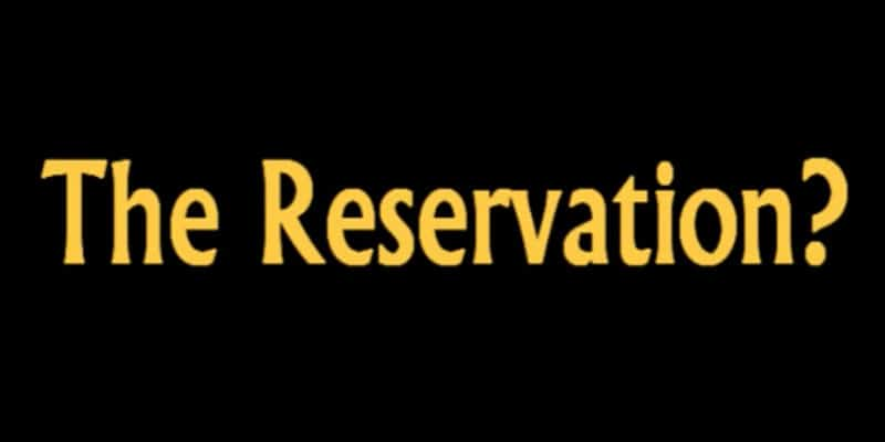 Reservation Section