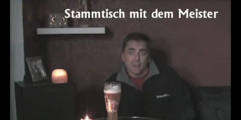 Stammtisch with the Meister