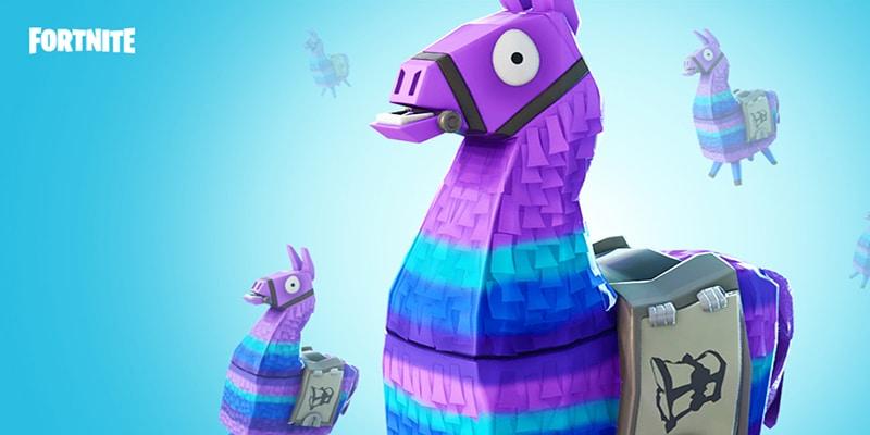 Fortnite Llama Lootbox