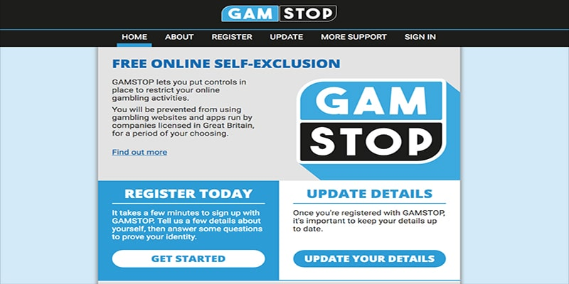 Photo of GamStop