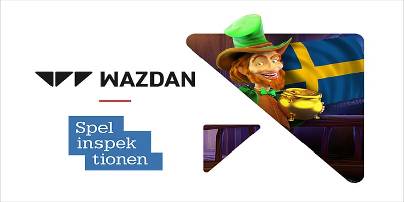 Photo of Wazdan Receives Swedish Certification from Spelinspektionen