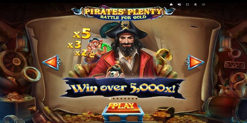 Photo of Pirates' Plenty Battle for Gold Released by Red Tiger