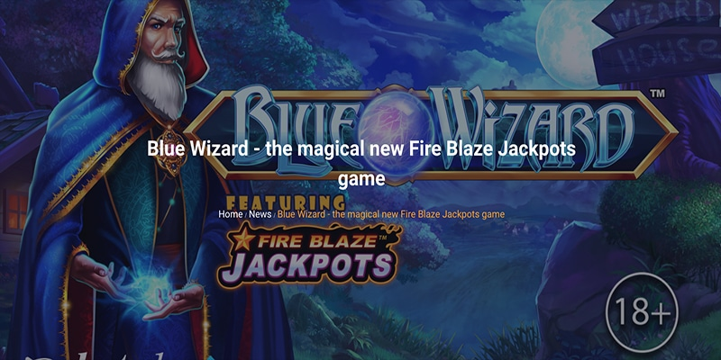 Photo of Blue Wizard Slot from Playtech