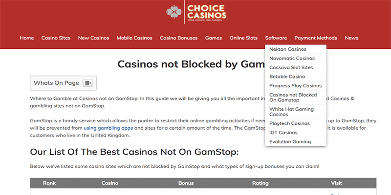 Photo of Casinos Not Blocked by Gamstop – Unethical Marketing by Rogue Affiliates