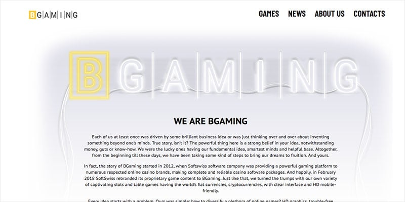 Photo of BGaming