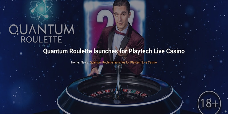 Photo of Quantum Roulette Launched by Playtech