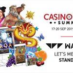 New Slot Games from Wazdan to be Showcased at Casino Beats Summit