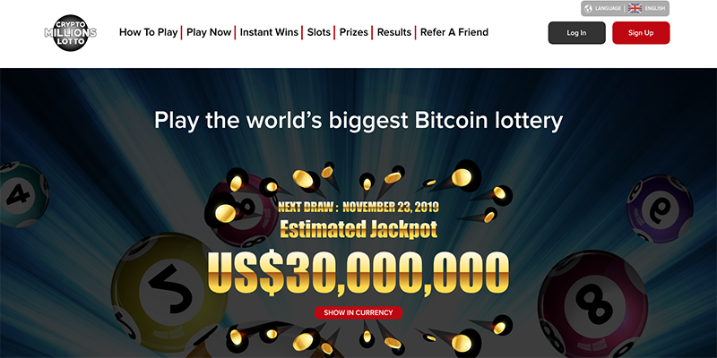 Crypto Millions Lotto