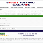 Casino Portal Fast Paying Casinos gets a Face Lift