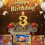 Fugaso Celebrates Third Birthday