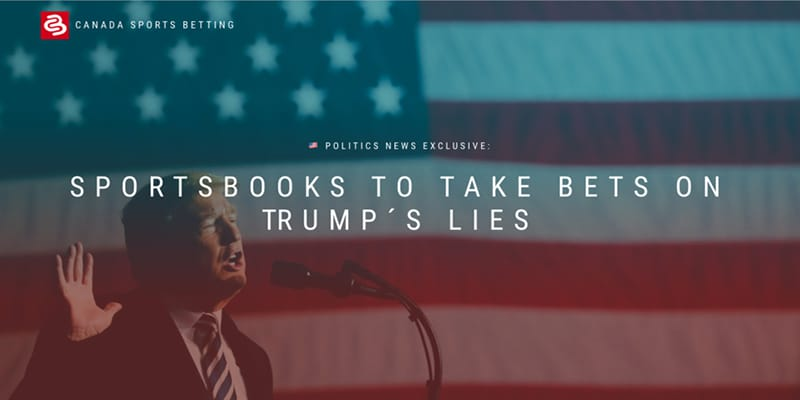Book opened on Trump Lies