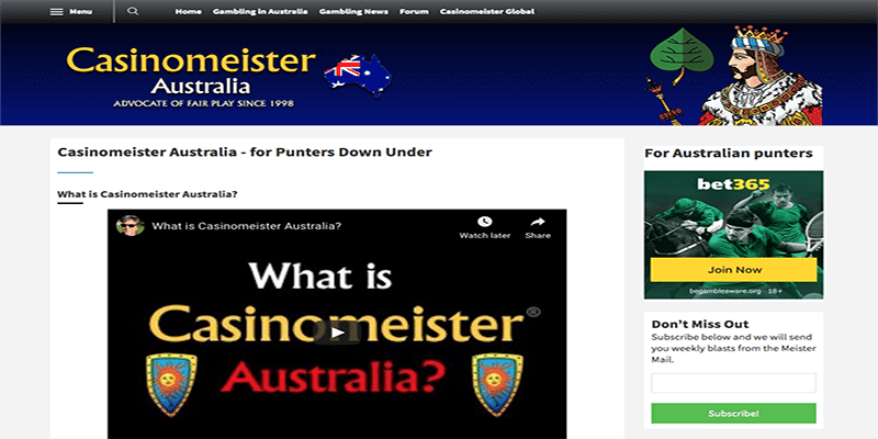 Photo of Casinomeister Australia