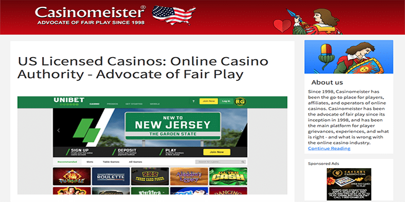 Photo of Casinomeister US
