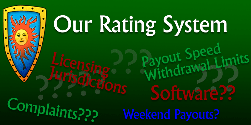 Casinomeister Rating System