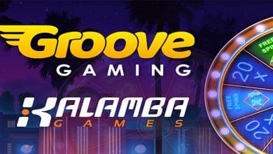 Photo of GrooveGaming Partners with Kalamba Games