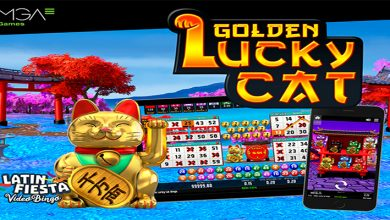 Photo of Golden Lucky Cat Video Bingo