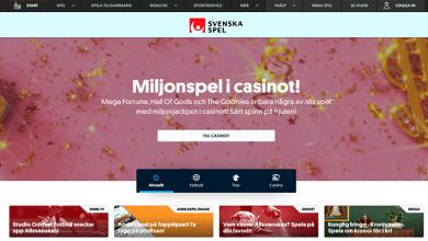 Photo of Svenska Spel Launches Playtech Online Casino in Sweden