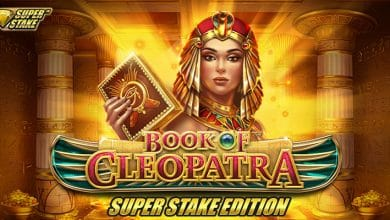 Photo of Book of Cleopatra™ reimagined with Super Stake™