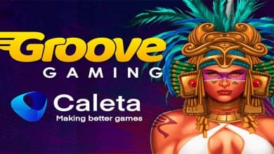 Photo of Caleta Gaming integrates onto GrooveGaming's Platform