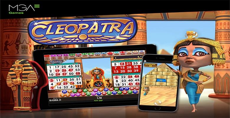 Cleopatra Video Bingo