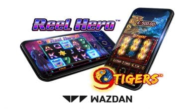 Photo of Wazdan's Reel Hero™ and 9 Tigers™ now available in UK and Sweden