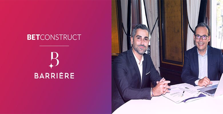 Photo of BetConstruct Partners with Barrière to Help Launch Its First Online Platform