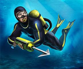 Diver 6 Wild Sharks