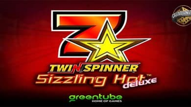 Twin Spinner Sizzling Hot