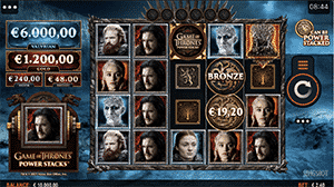 Game of Thrones Game Grid