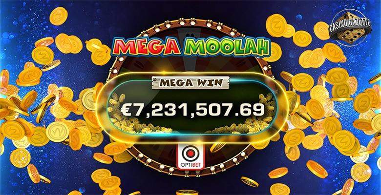 Mega Moolah Mega Win